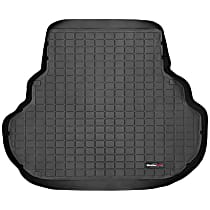 40073 DigitalFit Series Cargo Mat - Black, Thermoplastic, Molded Cargo Liner, Direct Fit, Sold individually