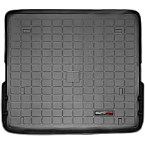 40074 DigitalFit Series Cargo Mat - Black, Thermoplastic, Molded Cargo Liner, Direct Fit, Sold individually