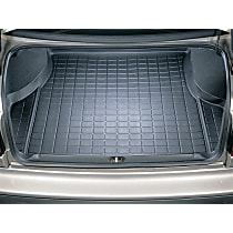 40083 Weathertech DigitalFit Cargo Mat - Black, Thermoplastic, Molded Cargo Liner, Direct Fit, Sold individually