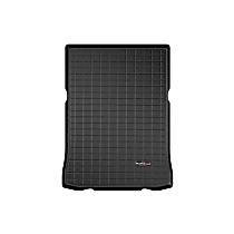 401005 Cargo Liner Series Cargo Mat - Black, Made of Rubber, Molded Cargo Liner, Sold individually