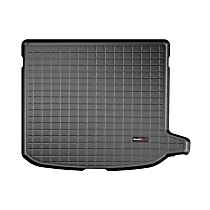 401006 Cargo Liner Series Cargo Mat - Black, Made of Rubber, Molded Cargo Liner, Sold individually
