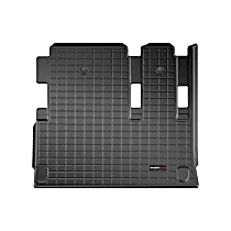401019V Cargo Liner Series Cargo Mat - Black, Made of Rubber, Molded Cargo Liner, Sold individually