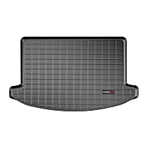 401020 Cargo Liner Series Cargo Mat - Black, Made of Rubber, Molded Cargo Liner, Sold individually
