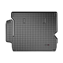 401044 Cargo Liner Series Cargo Mat - Black, Made of Rubber, Molded Cargo Liner, Sold individually