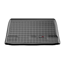 401051 Cargo Liner Series Cargo Mat - Black, Made of Rubber, Molded Cargo Liner, Sold individually