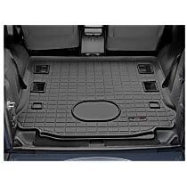 401055 Cargo Liner Series Cargo Mat - Black, Made of Rubber, Molded Cargo Liner, Sold individually