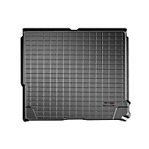 401071 Cargo Liner Series Cargo Mat - Black, Made of Rubber, Molded Cargo Liner, Sold individually