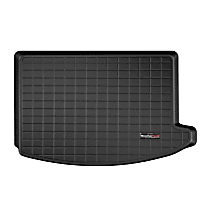 401075 Cargo Liner Series Cargo Mat - Black, Made of Rubber, Molded Cargo Liner, Sold individually