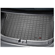 401077 Cargo Liner Series Cargo Mat - Black, Made of Rubber, Molded Cargo Liner, Sold individually
