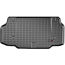 Weathertech CargoTech Cargo Mat - Black, Made of Rubber, Molded Cargo Liner