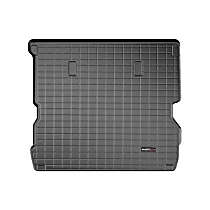401084 Cargo Liner Series Cargo Mat - Black, Made of Rubber, Molded Cargo Liner, Sold individually