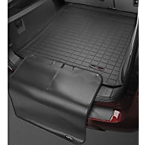 401084SK Cargo Liner Series Cargo Mat - Black, Made of Rubber, Molded Cargo Liner, Sold individually