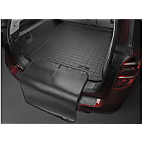 401091SK Cargo Liner Series Cargo Mat - Black, Made of Rubber, Molded Cargo Liner, Sold individually
