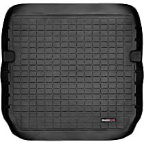 40109 Weathertech DigitalFit Cargo Mat - Black, Thermoplastic, Molded Cargo Liner, Direct Fit, Sold individually