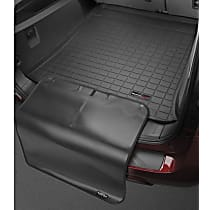 401121SK Cargo Liner Series Cargo Mat - Black, Made of Rubber, Molded Cargo Liner, Sold individually