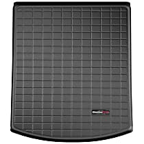 401126 Weathertech Cargo Liner Cargo Mat - Black, Made of Rubber, Molded Cargo Liner, Direct Fit, Sold individually