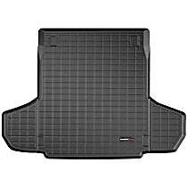 401132 Weathertech DigitalFit Cargo Mat - Black, Thermoplastic, Molded Cargo Liner, Direct Fit, Sold individually