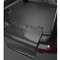 401136SK Cargo Liner Series Cargo Mat - Black, Made of Rubber, Molded Cargo Liner, Sold individually