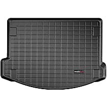401137 Cargo Liner Series Cargo Mat - Black, Made of Rubber, Molded Cargo Liner, Sold individually