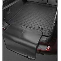 401137SK Weathertech DigitalFit Cargo Mat - Black, Thermoplastic, Molded Cargo Liner, Direct Fit, Sold individually