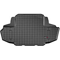 401156 Weathertech DigitalFit Cargo Mat - Black, Thermoplastic, Molded Cargo Liner, Direct Fit, Sold individually
