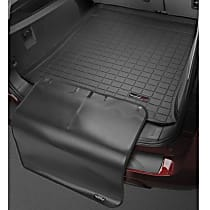 401158SK Cargo Liner Series Cargo Mat - Black, Made of Rubber, Molded Cargo Liner, Sold individually