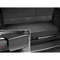 401159SK Weathertech Cargo Liner Cargo Mat - Black, Made of Rubber, Molded Cargo Liner, Direct Fit, Sold individually