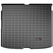 401175 Cargo Liner Series Cargo Mat - Black, Made of Rubber, Molded Cargo Liner, Sold individually