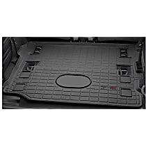 401198 Cargo Liner Series Cargo Mat - Black, Made of Rubber, Molded Cargo Liner, Sold individually