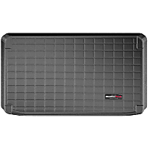401200 Cargo Liner Series Cargo Mat - Black, Made of Rubber, Molded Cargo Liner, Sold individually