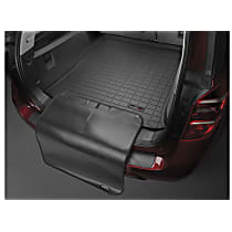 401228SK Cargo Liner Series Cargo Mat - Black, Made of Rubber, Molded Cargo Liner, Sold individually