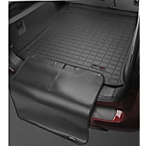 401231SK Cargo Liner Series Cargo Mat - Black, Made of Rubber, Molded Cargo Liner, Sold individually