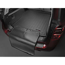 401236SK Weathertech Cargo Liner Cargo Mat - Black, Made of Rubber, Molded Cargo Liner, Direct Fit, Sold individually
