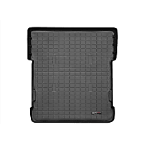 401241 Cargo Liner Series Cargo Mat - Black, Made of Rubber, Molded Cargo Liner, Sold individually