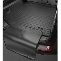 401242SK Cargo Liner Series Cargo Mat - Black, Made of Rubber, Molded Cargo Liner, Sold individually