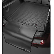 Weathertech CargoTech 401249SK Cargo Mat - Black, Made of Rubber, Molded Cargo Liner