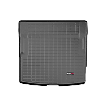 401254 Weathertech Cargo Liner Cargo Mat - Black, Made of Rubber, Molded Cargo Liner, Direct Fit, Sold individually