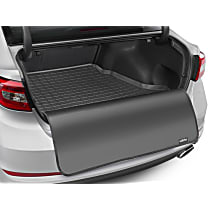 401254SK Weathertech Cargo Liner Cargo Mat - Black, Made of Rubber, Molded Cargo Liner, Direct Fit, Sold individually