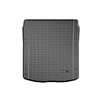 401255 Weathertech Cargo Liner Cargo Mat - Black, Made of Rubber, Molded Cargo Liner, Direct Fit, Sold individually