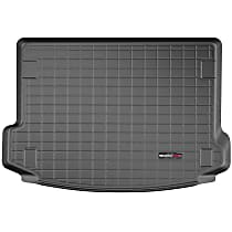 401282 Weathertech Cargo Liner Cargo Mat - Black, Made of Rubber, Molded Cargo Liner, Direct Fit, Sold individually