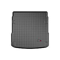401289 Weathertech Cargo Liner Cargo Mat - Black, Made of Rubber, Molded Cargo Liner, Direct Fit, Sold individually