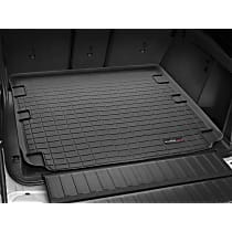 401302 Weathertech Cargo Liner Cargo Mat - Black, Made of Rubber, Molded Cargo Liner, Direct Fit, Sold individually