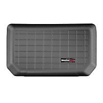 401324 Weathertech Cargo Liner Cargo Mat - Black, Made of Rubber, Molded Cargo Liner, Direct Fit, Sold individually