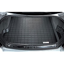 40136 Weathertech DigitalFit Cargo Mat - Black, Thermoplastic, Molded Cargo Liner, Direct Fit, Sold individually