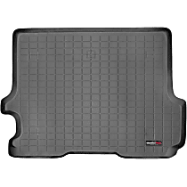 40188 Weathertech DigitalFit Cargo Mat - Black, Thermoplastic, Molded Cargo Liner, Direct Fit, Sold individually