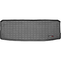 40254 Weathertech DigitalFit Cargo Mat - Black, Thermoplastic, Molded Cargo Liner, Direct Fit, Sold individually