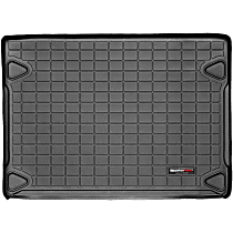 40299 Weathertech DigitalFit Cargo Mat - Black, Thermoplastic, Molded Cargo Liner, Direct Fit, Sold individually