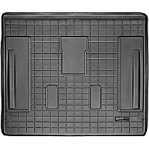 40316 Weathertech DigitalFit Cargo Mat - Black, Thermoplastic, Molded Cargo Liner, Direct Fit, Sold individually