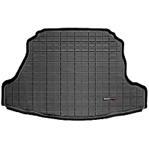40338 Weathertech DigitalFit Cargo Mat - Black, Thermoplastic, Molded Cargo Liner, Direct Fit, Sold individually