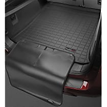 40340SK Cargo Liner Series Cargo Mat - Black, Made of Rubber, Molded Cargo Liner, Sold individually